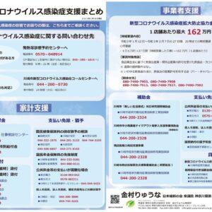 川崎市の新型コロナウイルス支援策まとめ