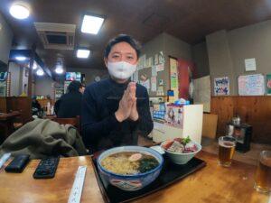 川崎グルメ:蕎麦屋『八千代』川崎区追分町の「何でも食堂」